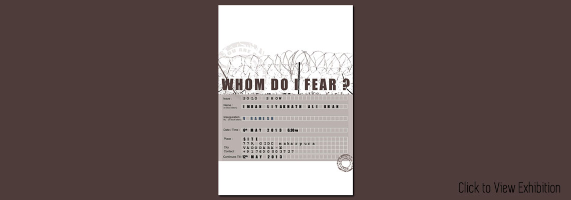 Whom do I fear?